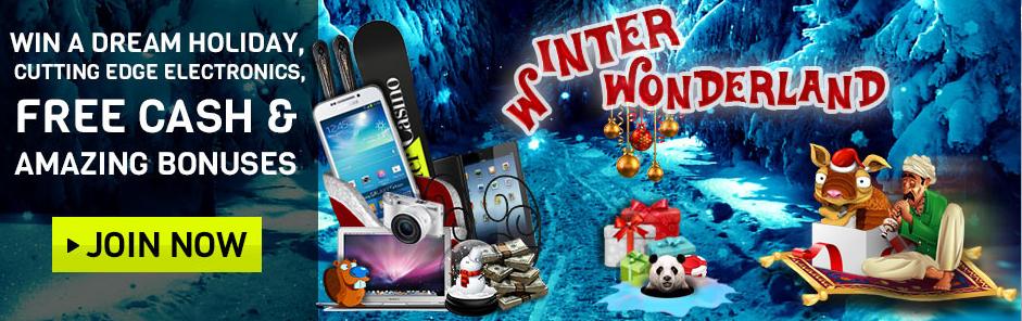 winter wonderland intercasino